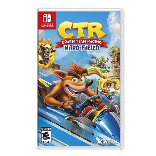 Jogo Crash Racing Nitro-Fueled Nintendo Switch