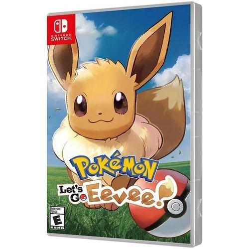 Jogo Pokemon Lets Go Eevee Nintendo Switch