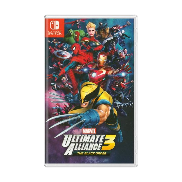 Jogo Marvel Ultimate Alliance 3 The Black Order Nintendo Switch