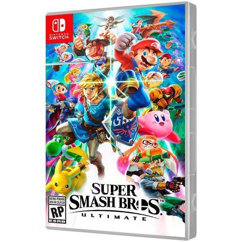 Jogo Super Smash Bros: Ultimate - Nintendo Switch