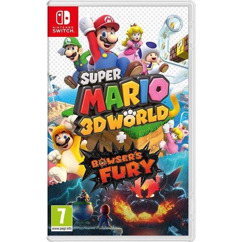 Jogo Super Mario 3D World + Bowser's Fury - Nintendo Switch
