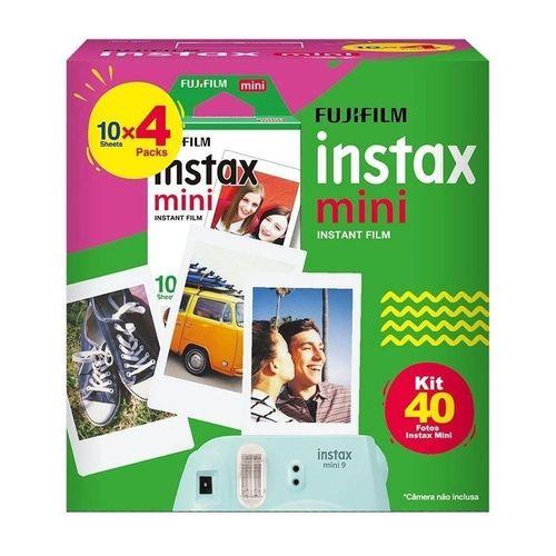 Kit Fujifilm Filme Instax Mini - 40 Fotos