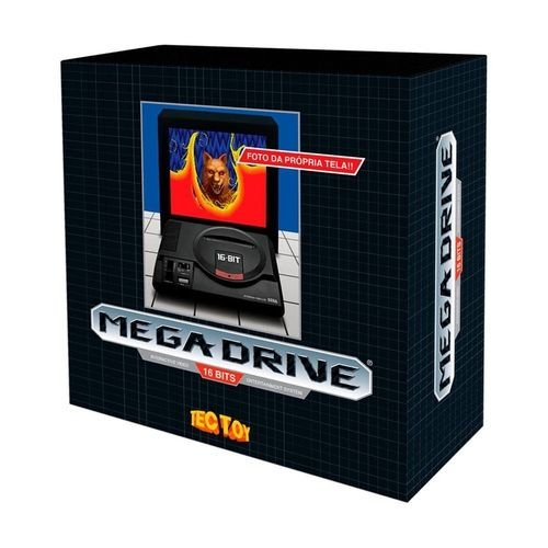 Console Mega Drive com 1 Joysticks 22 Jogos - Tec Toy