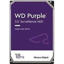 Disco HDD WD Western Digital 18TB WD180PURZ 6Gb/s