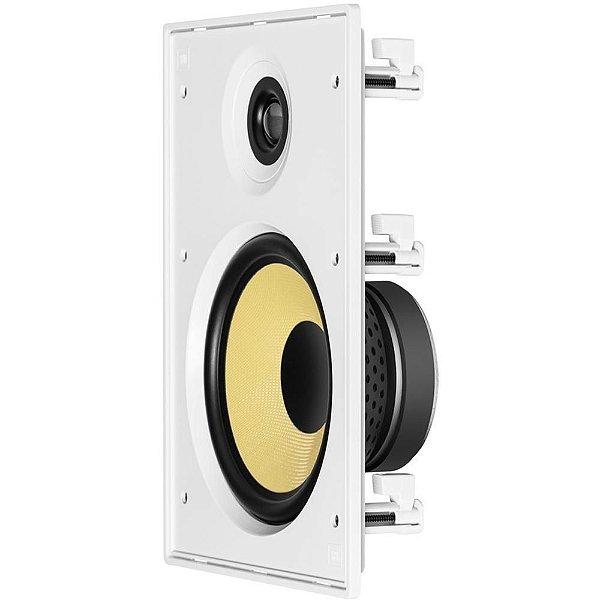 JBL Arandela Caixa Acústica de Embutir Retangular CI8R Com Cone Kevlar 8''