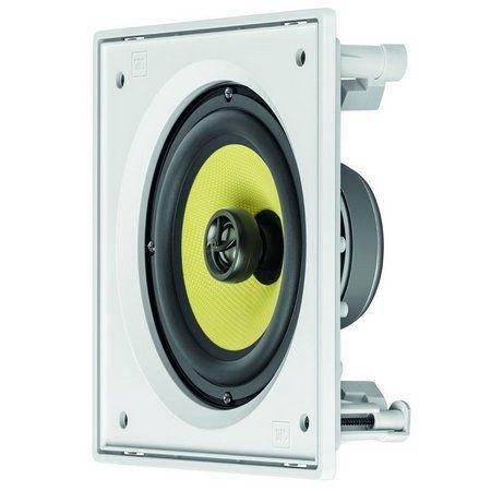 JBL Arandela Caixa Acústica de Embutir Quadrada CI6S Kevlar ''