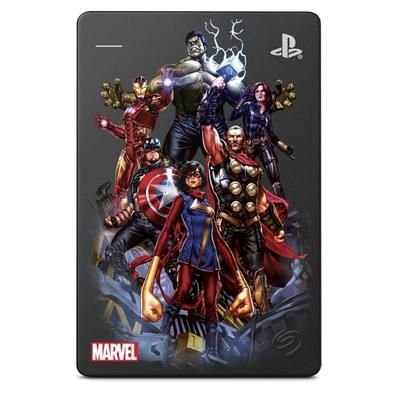 HD Externo Seagate GameDrive PS4 Avengers  2TB