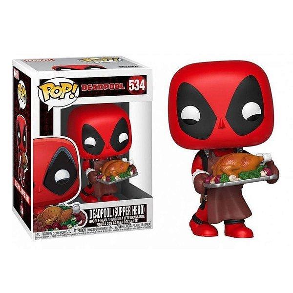 Funko Pop Deadpool ( Super hero ) 534
