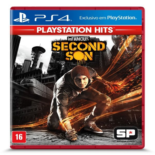 Jogo Infamous Second Son Hits PS4