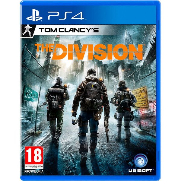 Jogo The Division Tom Clancy´s PS4