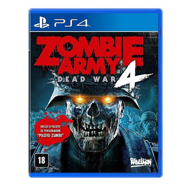 Jogo Zombie Army Dead War 4 PS4