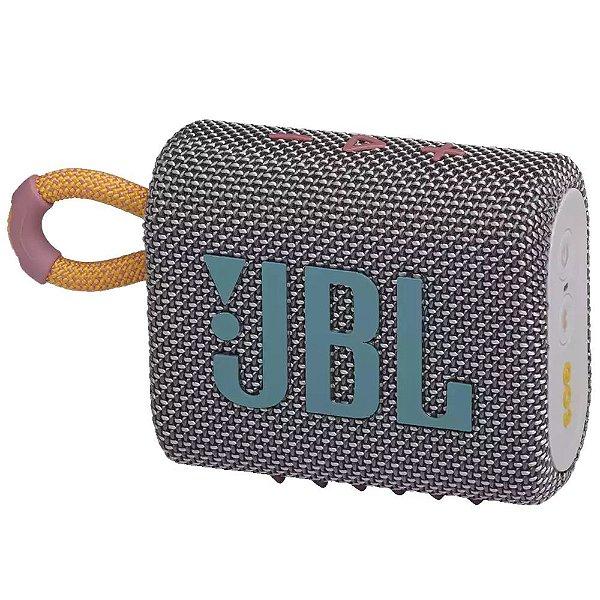 Caixa de Som Bluetooth JBL GO 3 Cinza
