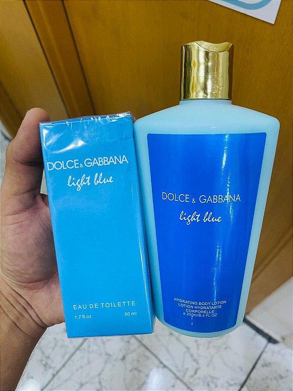 Kit Perfume e Hidratante Ligth Blue