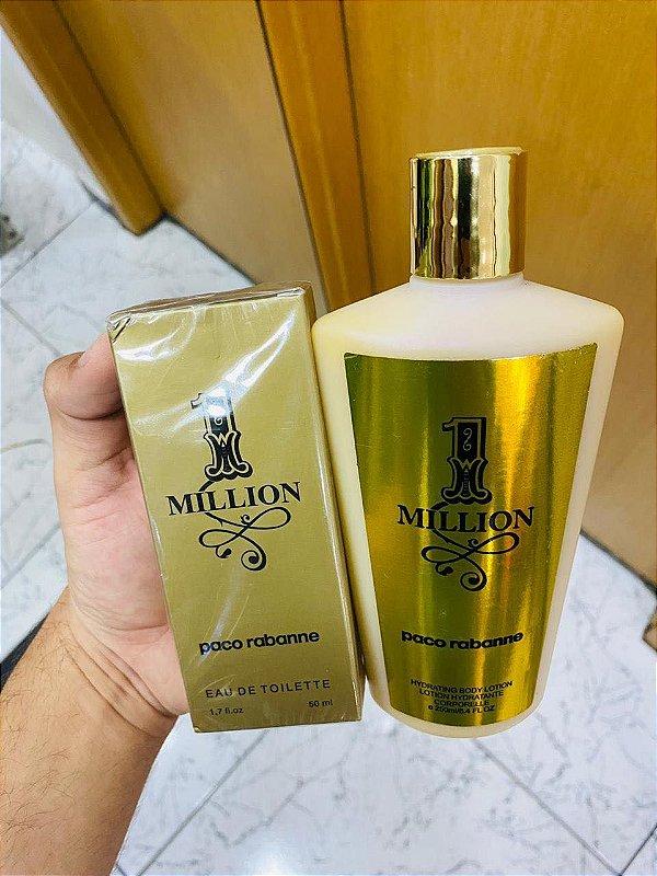 Kit Perfume e Hidratante 1 Million
