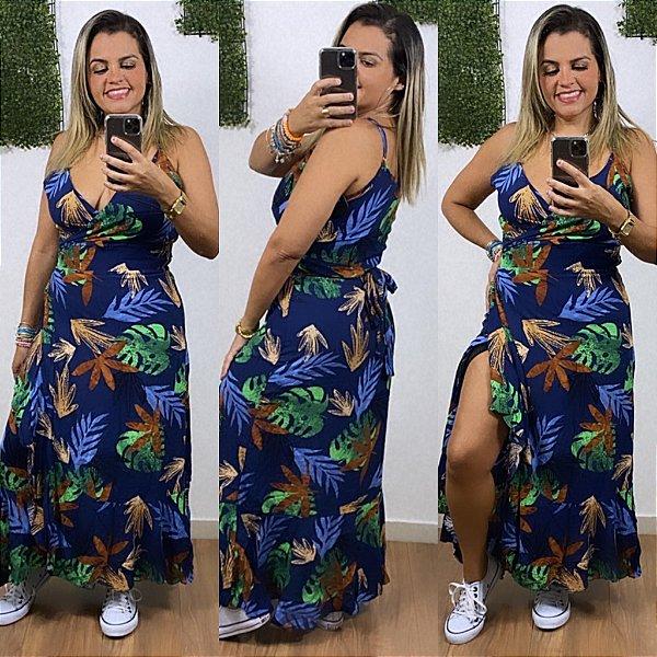 Vestido Transpassado Lidi