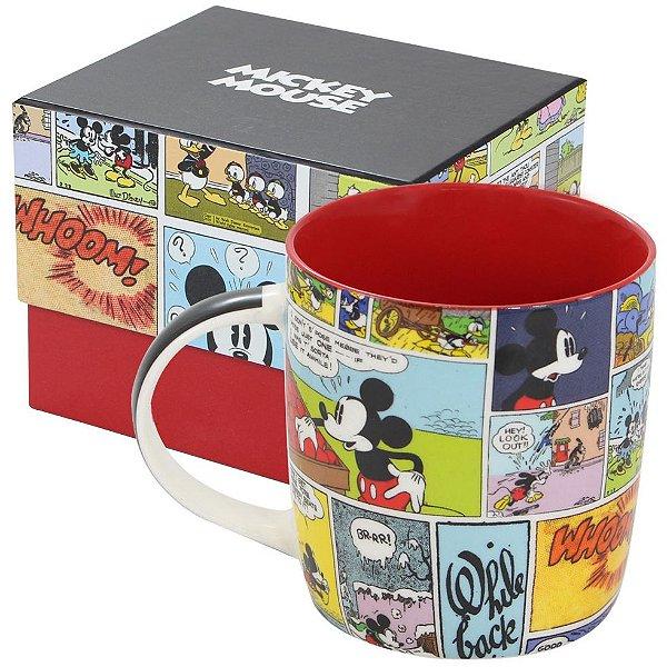 Caneca de Porcelana Mickey HQ Colors