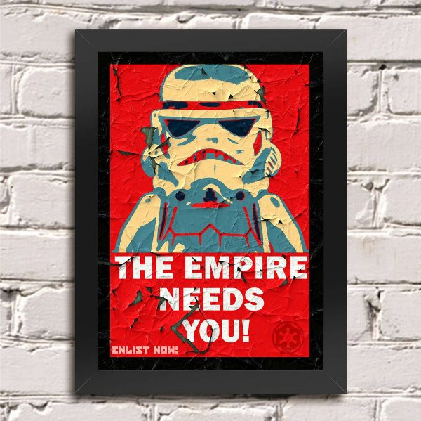Poster Star Wars The Empire Needs You