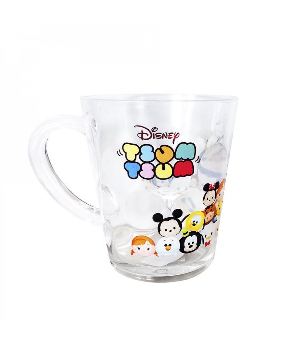 Caneca de Acrílico Personagens Disney Tsum Tsum (Mod.1)