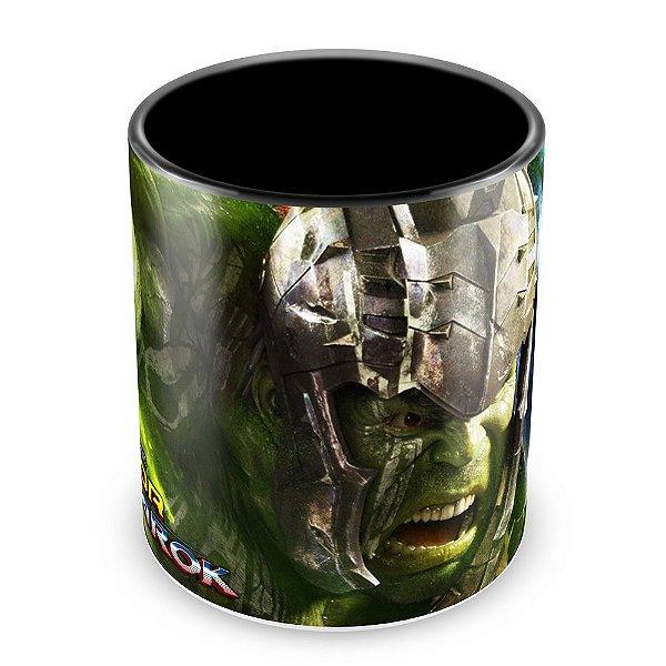 Caneca Personalizada Thor Ragnarok - Mod.2 (Preta)