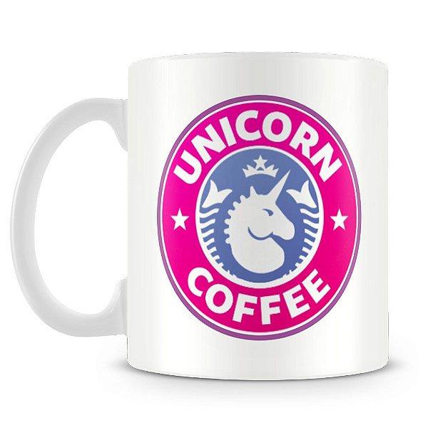 Caneca Personalizada Unicórnio Coffee
