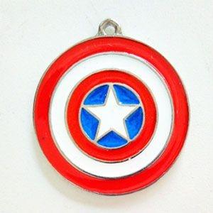 Colar Escudo Capitão América