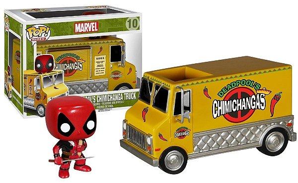 Funko POP Bobble Head Deadpool Chimichanga Truck