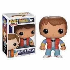 Funko Pop Marty McFly - De Volta para o Futuro