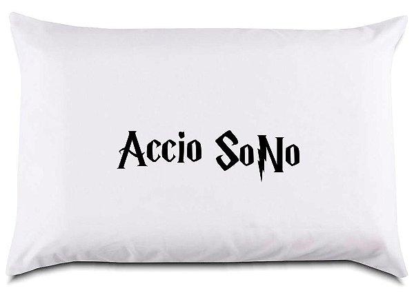 """Fronha para travesseiro """"Accio Sono"""""""