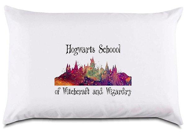 Fronha para travesseiro Hogwarts