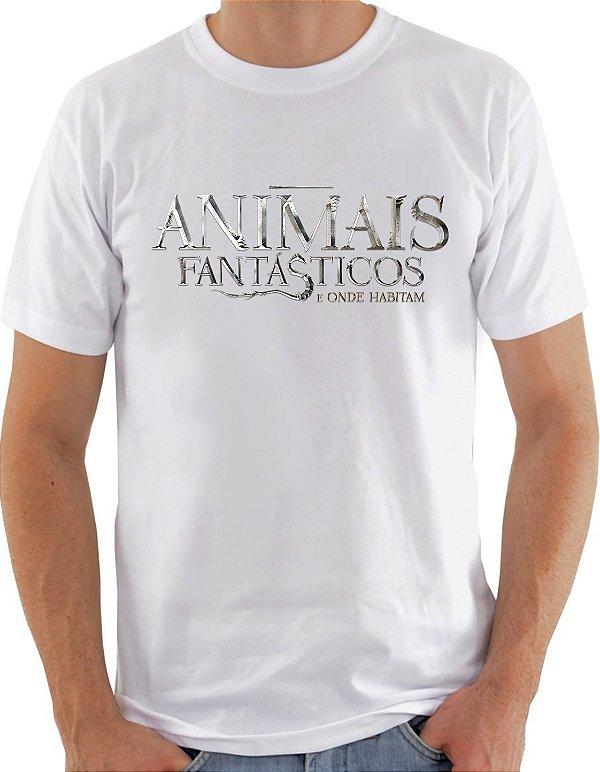 Camiseta Unisex Animais Fantasticos