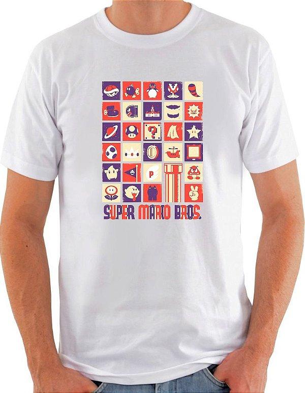 Camiseta Unisex Super Mario Bros