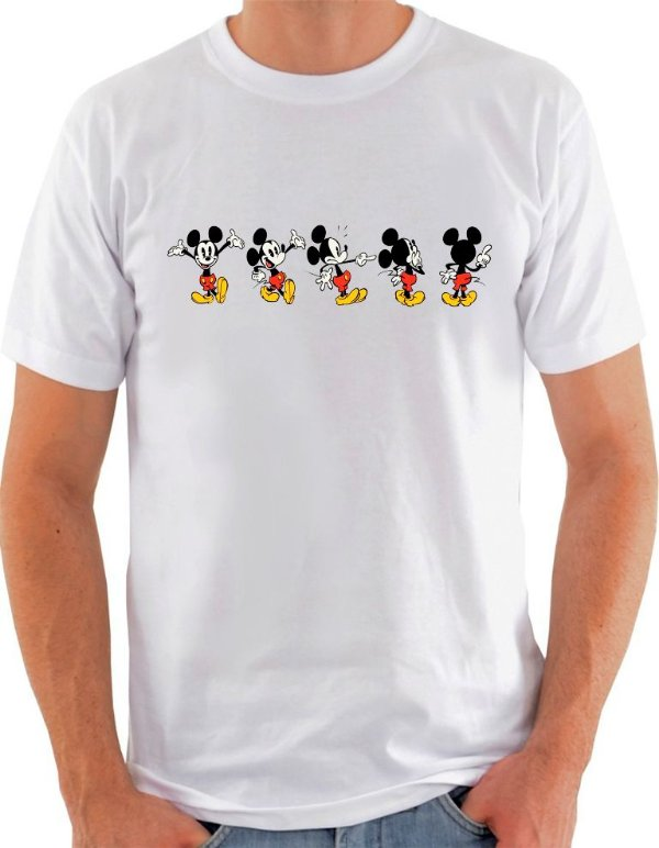 Camiseta Unisex Mickey Mouse poses