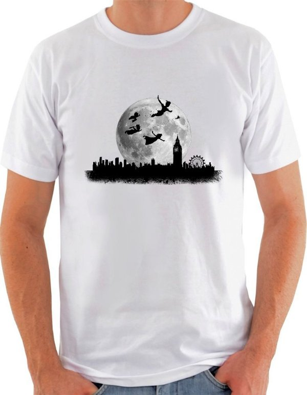 Camiseta Unisex Peter Pan