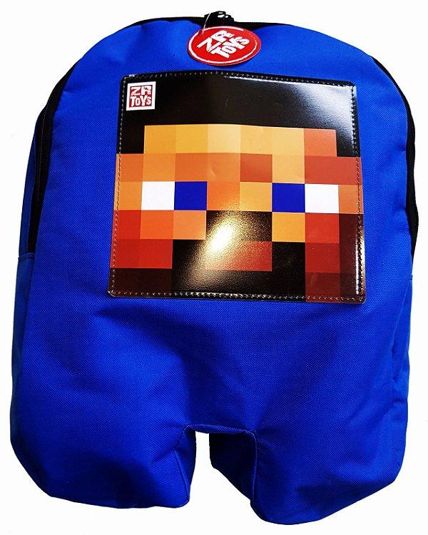 Mochila Minecraft Steve