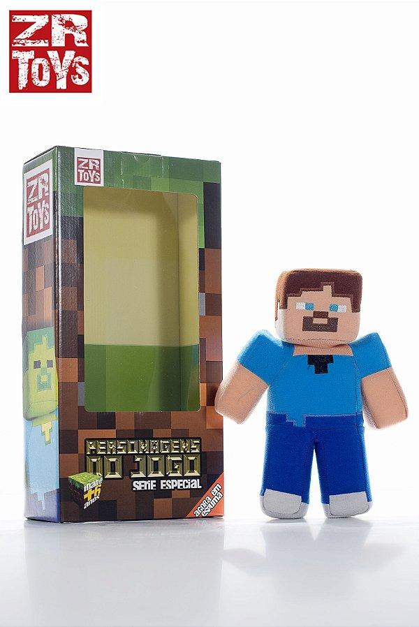 Boneco Minecraft Steve