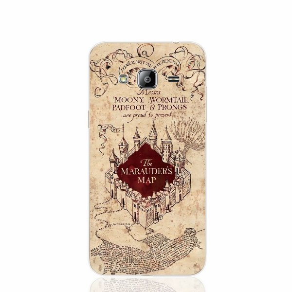 Capa Celular Mapa do Maroto Harry Potter- Samsung S7