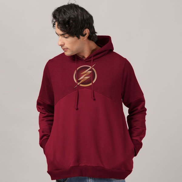 Moletom The Flash Serie Logo Gold