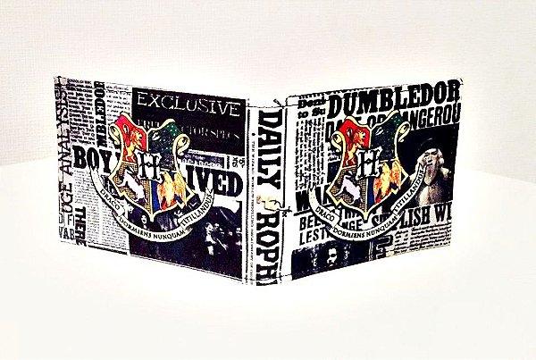 Carteira Harry Potter Profeta Diário