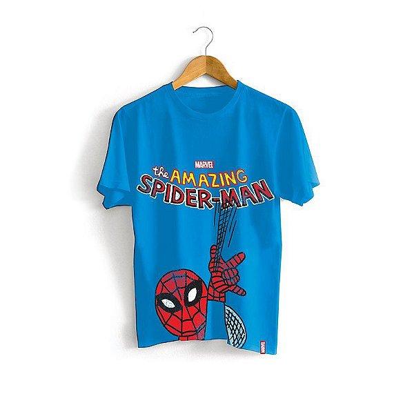 Camiseta Infantil Marvel Homem Aranha (medidas na descrição)