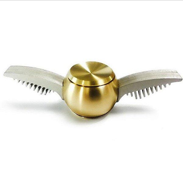 Spinner de Metal inspirado no Pomo de Ouro de Harry Potter