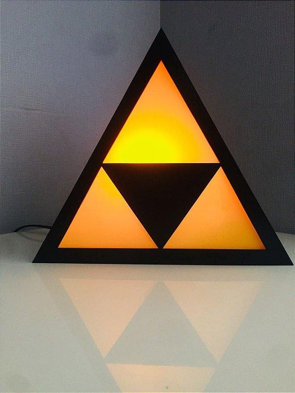 Luminária de mesa Jogo Zelda