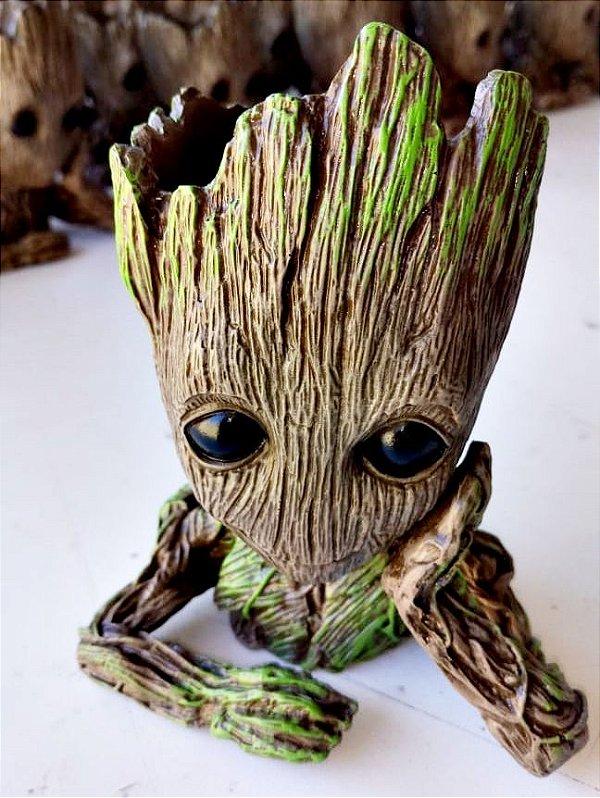 Busto Groot (vaso ou porta caneta) - Guardiões da Galaxia - 17cm