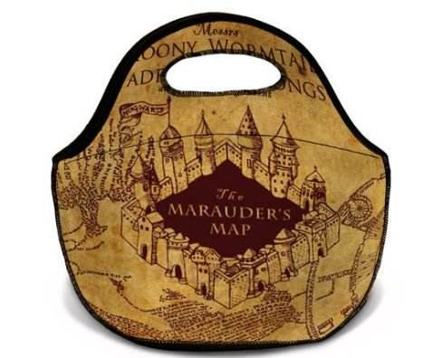 Lancheira - Bolsa térmica Harry Potter Mapa do maroto