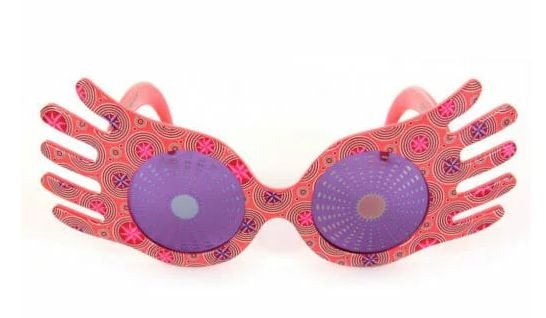 Óculos Oficial Luna Lovegood Spectrespecs por Elope
