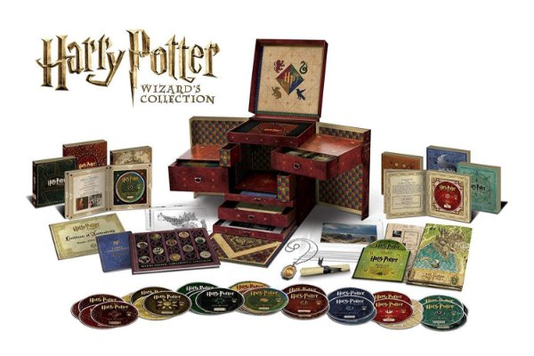 Blu-Ray Coleção Harry Potter Wizard´S Collection - 31 Discos
