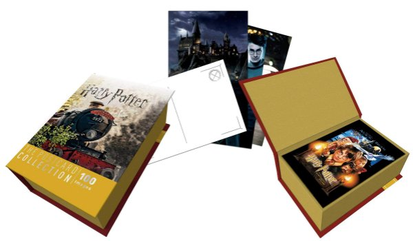 Harry Potter: The Postcard Collection (Inglês) Capa dura - PRE VENDA PARA DEZ-2018
