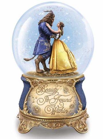 Globo de Neve Musical Disney Bela e a Fera versão Live Action (Edição Limitada)