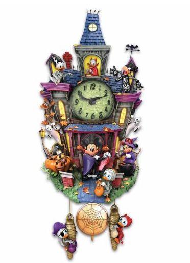 Relógio Cuco Original Disney Mickey e a festa de Halloween