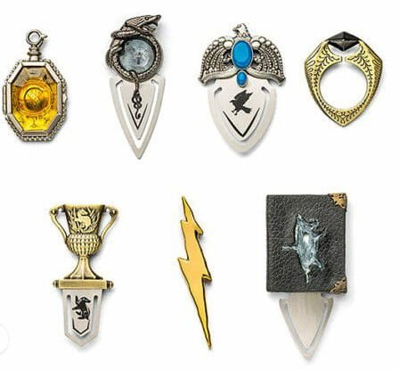 Marcadores de livro Horcrux Harry Potter Oficial Noble Collection