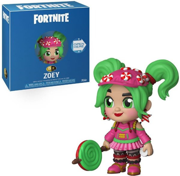 Funko Pop 5 Star Fortnite Zoey